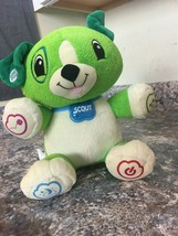 "MY PAL SCOUT By Leap Frog 12"" Interactive Plush Bear Boy Girl 18 Monts+ - $8.59"