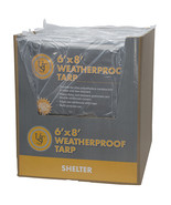 Ultimate Survival Technologies Weatherproof Tarp 6' x 8' - $18.66
