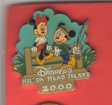Mickey Minnie Fishing Hilton Head Island Resort Resort  Authentic Disney... - $9.99