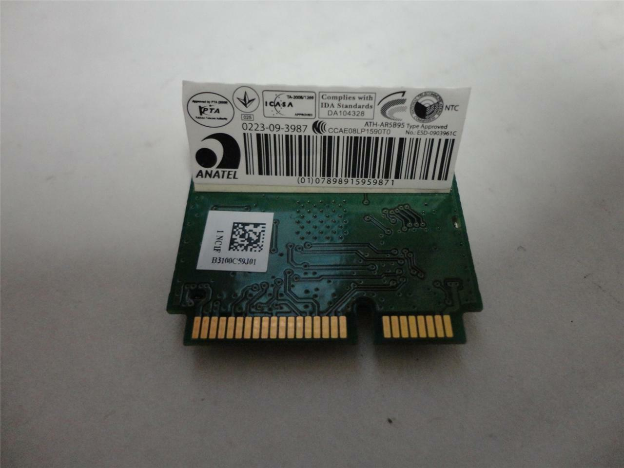 "Dell 2P1GR Inspiron 15.6"" N5030 OEM WiFi Wireless Card AR5B95 DNXA-95-D1 image 2"