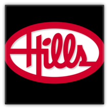 "Hills Department Store Metal Magnet 2""x2"" - $12.87"