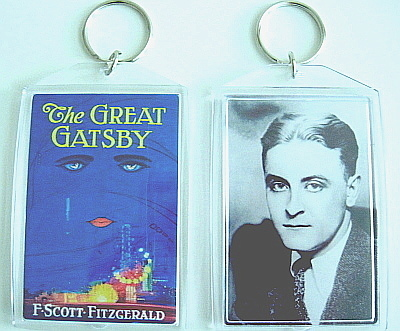 Great gatsby key chain
