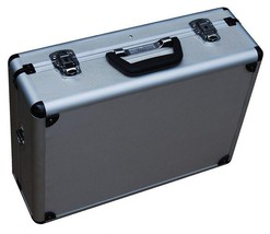 Barber Box Case Hair Storage Tool Carry Cut Scissors Shears Clipper Port... - $44.26