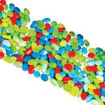 Multicolor Glow In Dark Garden Pebbles Decor - $8.11