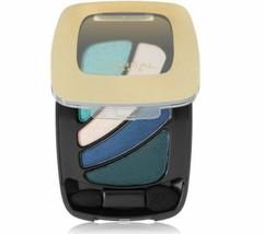 L'oreal Eye Shadow Palette Colour Riche #211 Blue Couture - $4.94