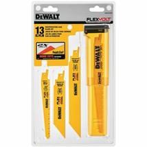 Dewalt-DWAFV413SET Flexvolt 13 Pc. Reciprocating Saw Blade Set Usa - $27.72