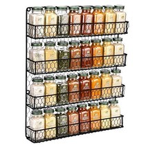 Spice Rack Wall Mounted Spice Rack Organizer Chicken Wire Rural Style Sp... - £30.02 GBP
