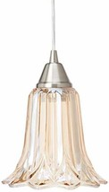 Elk Lighting 10695/1 Pendant Light, Satin Nickel - $174.03