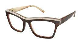 L.A.M.B. LA028 Gwen Stefani Tortoise Bone New Tura Women Designer 53-18-140 - $158.39