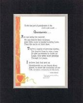 Personalized Touching and Heartfelt Poem for GrandParents - Grandparents Poem on - $22.72
