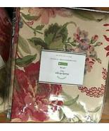 Pottery Barn Marla Drape 50x84L Curtain Floral Pole Pocket Blush Just One - $99.00