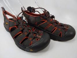 Keen Newport H2 Size US 11 M (D) EU 44.5 Men's Sport Sandals Shoes Red Gray