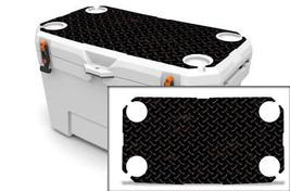 """Ozark Trail Wrap """"Fits 73qt Cooler"""" 24mil Skin Lid Kit Black Diamond Plate - $35.95"""