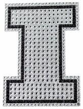 Grande Coche Auto NCAA Illinois Cristal Estrás Bling Adhesivo Emblema Nip