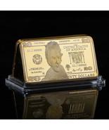 WR Twenty Dollar Bill US $20 Commemorative 99 Gold Ingot Bar American Gi... - $4.88
