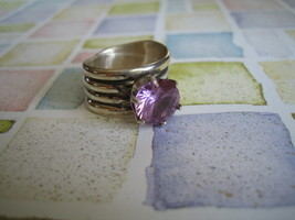 Sterling Silver & Jewelite Ring - $150.00