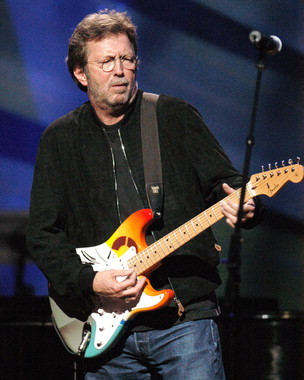 Primary image for Eric Clapton MM Vintage 11X14 Matted Color Music Memorabilia Photo
