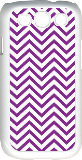 Primary image for Chevron Purple Designed Samsung Galaxy S3 Case Cover