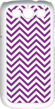 Chevron Purple Designed Samsung Galaxy S3 Case Cover - $13.95