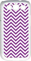 Chevron Purple Designed Samsung Galaxy S3 Case Cover - $13.95