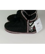Women's Slippers Muk Luks Women's Slippers Size XS 3-4 Black - $16.99