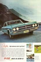 1964 Oldsmobile Car Automobile Print Advertisement Ad Vintage 1960s - $6.33