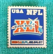 SUPER BOWL XLI (41) PIN - NFL LAPEL PINS - MINT CONDITION - COLTS - BEAR... - $5.89