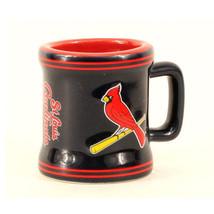 MLB St. Louis Cardinals Sculpted Ceramic 2 Oz Mini Mug Shot Glass Series... - $8.86