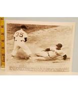 1956 New York Yankees & Red Sox Baseball Ballet Elston Howard & Billy Kl... - $12.82