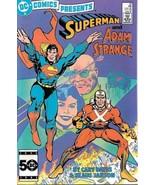 DC Comics Presents Comic Book #82 Superman DC Comics 1985 NEAR MINT - $3.99