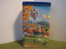 "1994 Vintage Original HERSHEYS Kisses With Almonds Tin #11 7X4X2.5"" Hershey - $14.43"
