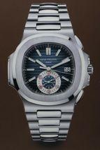 "30x29"" Patek Philippe Geneve Nautilus Chronograph Watch Poster Advertising Sign image 5"