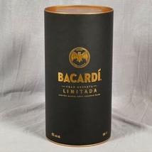 Bacardi Gran Reserva Limitada Bottle Holder Cylinder Canister ONLY NO BO... - $19.79