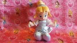 Disney Store Baby Toddler Princess Cinderella Plush Stuffed Animal Doll ... - $11.75