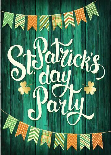 St. Patrick's Day Party Door Cover