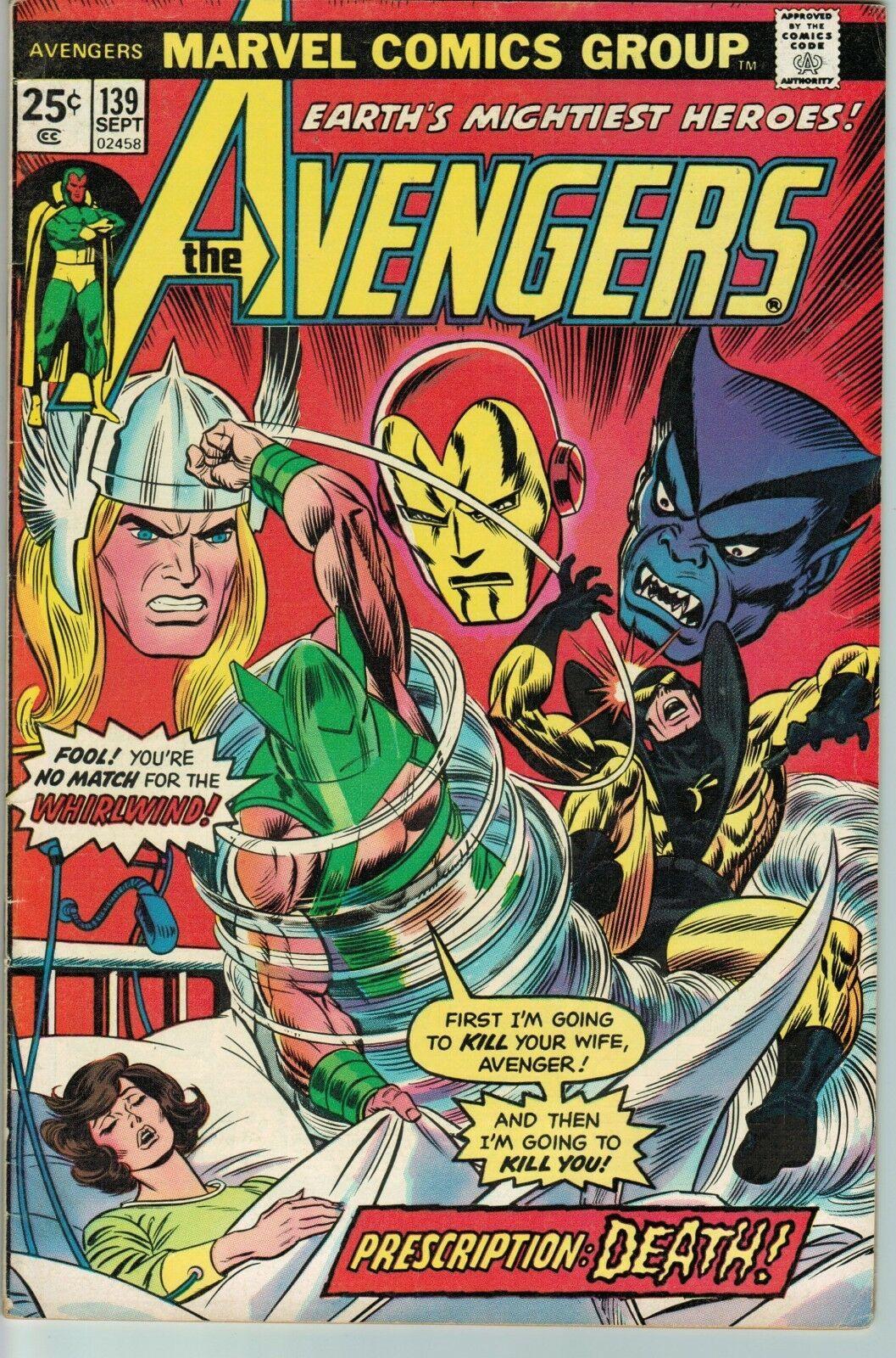 Avengers #139 FN 6.5