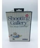 Shooting Gallery (Sega Master, 1987) New Complete - $44.99