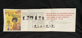The Boondocks Banner Poster A Right to be Hostile Huey & Riley Cartoon 3... - $39.59