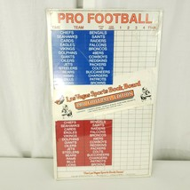 Vintage 1990 NFL Pro Football Mini Las Vegas Sports Book Board Game New - $49.45
