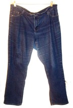 Ashley Stewart Blue Jean Denim Stretch Jeans Size 16P  - $25.64