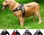 Nylon Heavy Duty Dog Adjustable Training Harness Collar With Padded Extra
