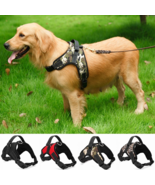 Nylon Heavy Duty Dog Adjustable Training Harness Collar With Padded Extra - £7.85 GBP - £14.92 GBP