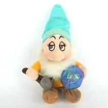 """Disney Store Snow White 7 Dwarfs Bashful 9"""" Plush Dwarf Mining Pickaxe B... - $14.50"""