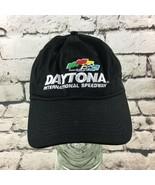 Daytona Int Speedway NASCAR Fanatics OSFA Hat Black Adjustable Ball Cap ... - $16.82