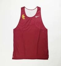 Nike USC Trojans Digital Fast Running Singlet Mens L Maroon CV3064 Track Tank - $54.45