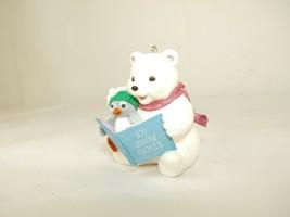"""Hallmark Keepsake 2006 """"It's Snowtime!"""" Snowball & Tuxedo Ornament - $7.91"""