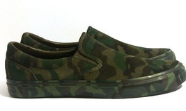 Polo Ralph Lauren Thompson Camo Suede Sneaker Size 10.5  - $57.99