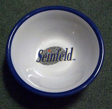 """Seinfeld Cereal Bowl by Selandia 7"""" 1989 Kellogg's Offer * Brand New OOP RARE!  image 1"""