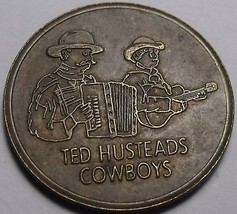 Wall Drug, Wall South Dakota Medallion~28.2mm~Ted Husteads Cowboys~Free ... - $4.94