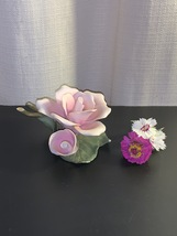 Vintage Lefton Bisque Pink Roses, Delicate Lefton China Roses, Bone Chin... - $25.00